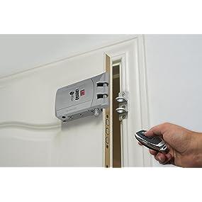 cerradura invisible remock lockey seguridad puerta cerradura electronica inteligente mando distancia