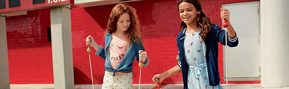 tommy hilfiger, dresses, girls, tees, denim