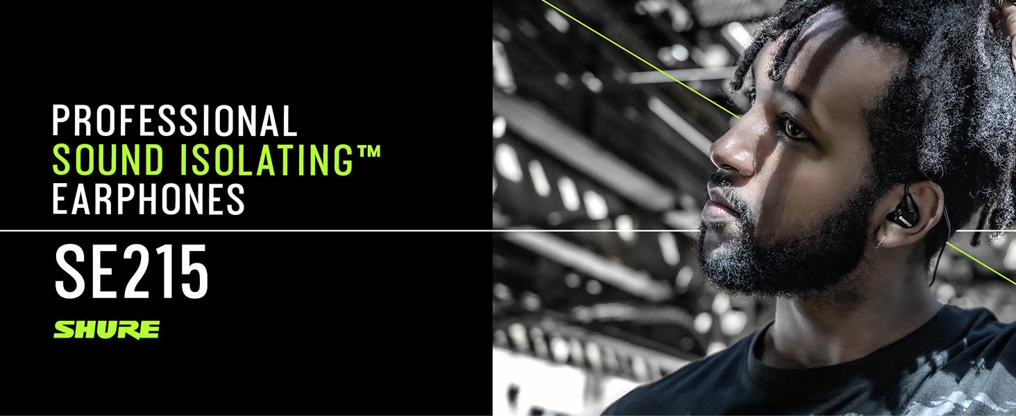 Shure SE215 Professional Sound Isolating Earphones
