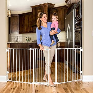 "76"" baby gate"