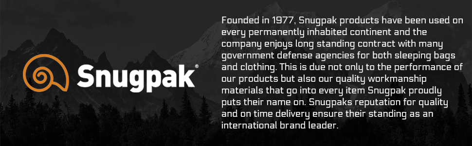 Snugpak - Founded in 1977