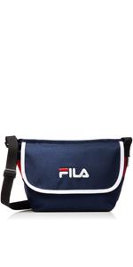 [フィラ] ショルダーバッグ FILA フィラ メンズ レディース 斜めがけ 小さめ 黒 レッド ネイビー F