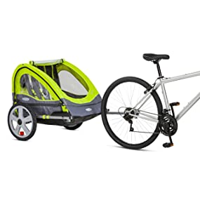 InStep, Sierra, Quick N EZ Double Bicycle Trailer, Bike Trailer, Pacific Cycle, Stroller, Coupler