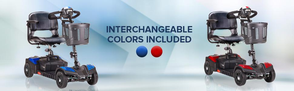 Interchangeable Colors Included