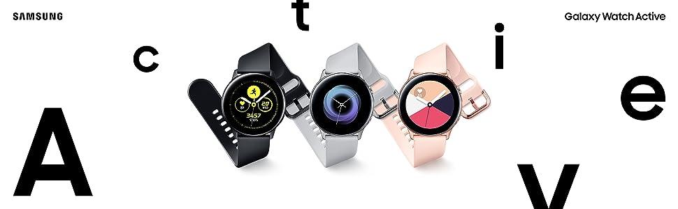 Galaxy Watch Active Key Visual