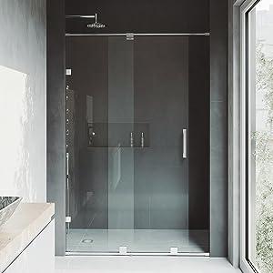 vigo shower doors. VIGO Ryland Adjustable Frameless Sliding Shower Door Vigo Doors I