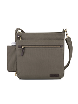 Courier North/South Crossbody