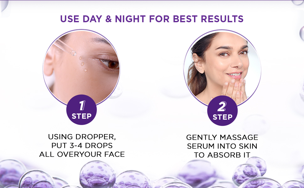 how to use serum