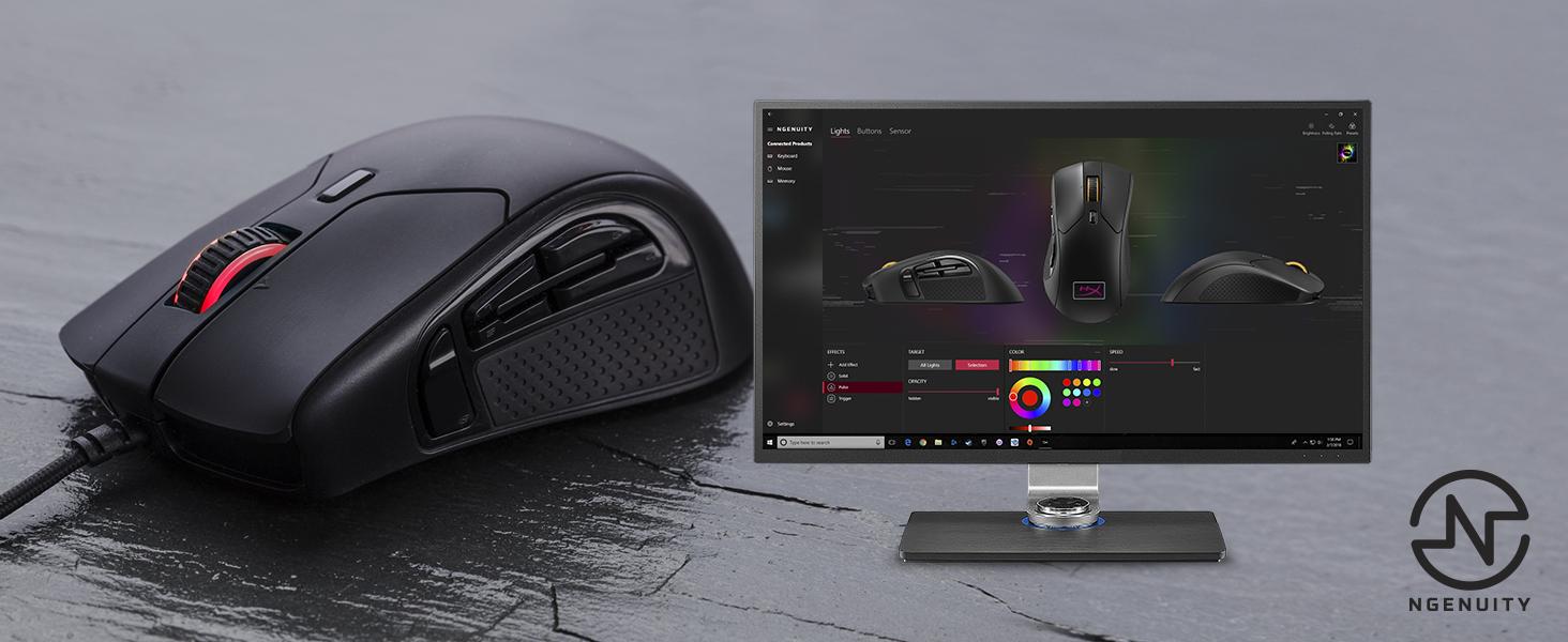 HyperX NGENUITY provides advanced customization