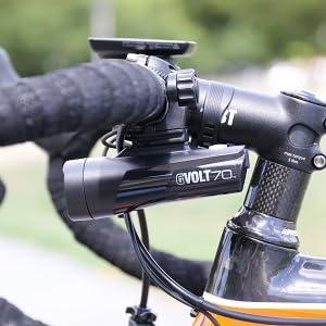 GVOLT70  ヘッドライト 自転車用ヘッドライト ロードバイク クロスバイク ミニベロ 小径車 USB充電
