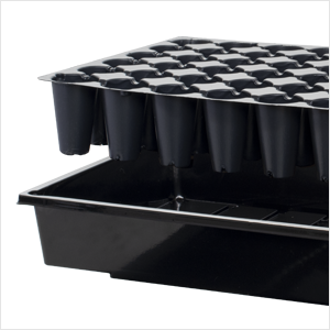 72 Cell Seedling Insert with Base Tray