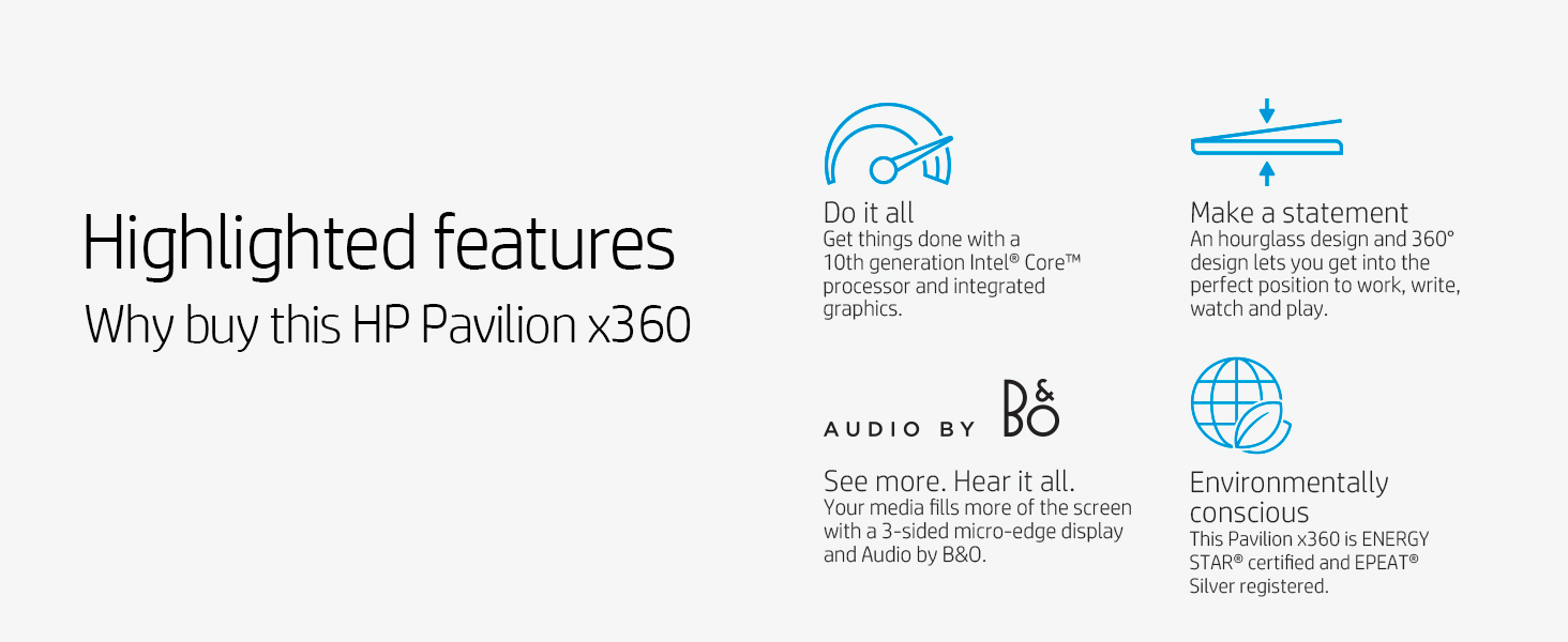 design 360 degree hinge position modes work write watch play display micro-edge bezel 2-in-1