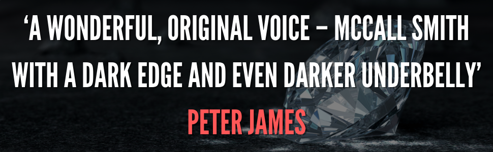 Peter James jacket quote for Detective Kubu series