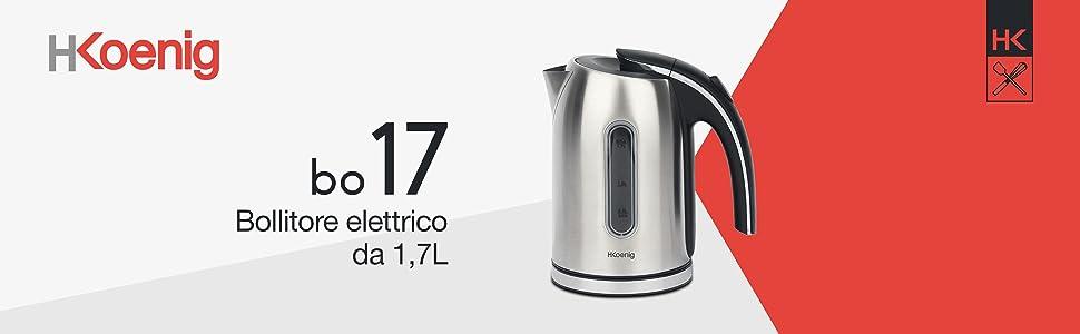 Dualit 3000W CUPOLA Bollitore in acciaio inox 1.7 lt-FINITURA CROMATA E Crema 72702