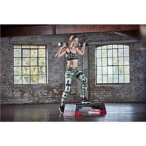 Reebok - Step para fitness, negro y blanco: Amazon.es: Deportes y ...