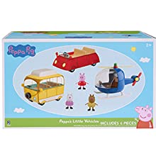 peppa pig toy vehicles for toddlers
