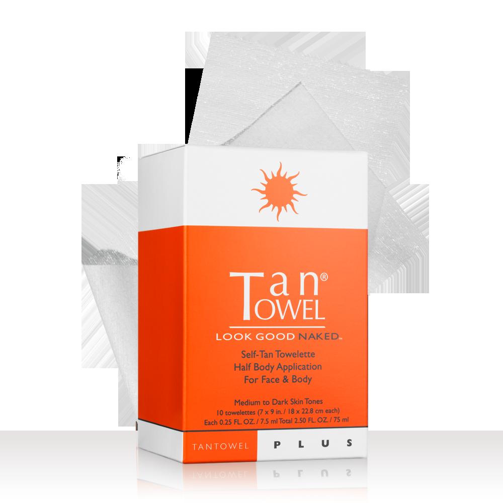 Tan Towel - TanTowel Look Good Naked Self-Tan Towelettes