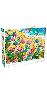 Fun in The Sun - 1500 Piece Jigsaw Puzzle