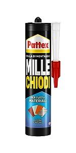 pattex clicca e incolla fissa click & fix facile veloce rapido adesivo dose