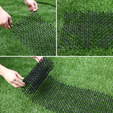 One Sight Cat Scat Mat with Spikes Anti Cat Mat Indoor Cat Deterrent Outdoor Mat for Garden, Fence, Anti-Cats Network Digging Stopper Prickle Strip ...