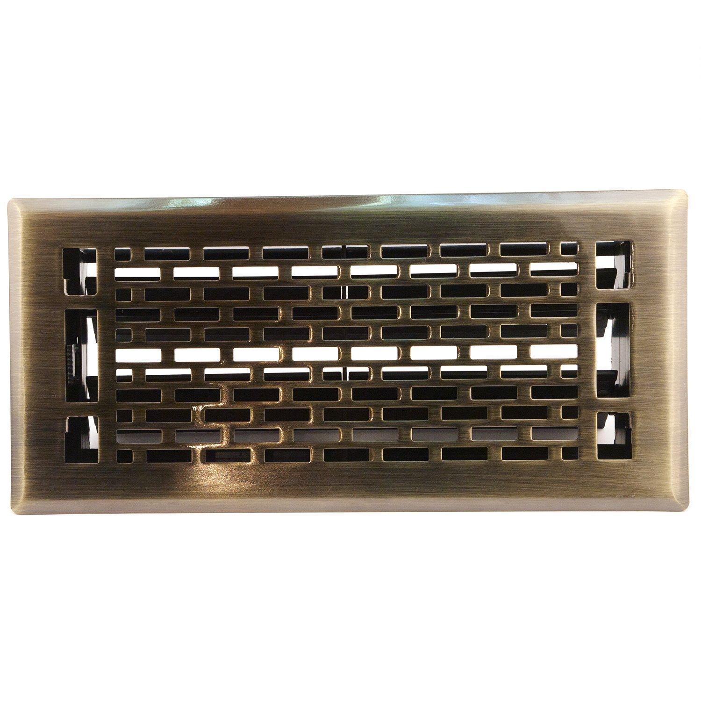 Accord Amfrabma410 Manhattan Floor Register 4 Inch X 10