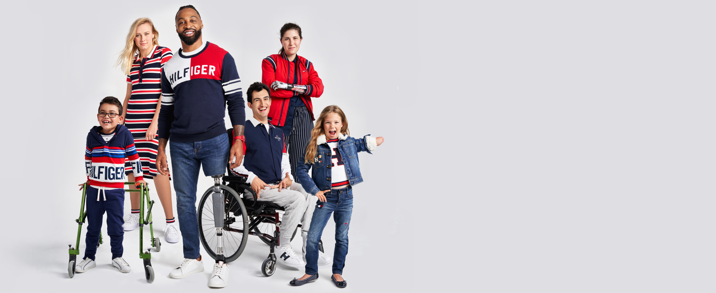Tommy Hilfiger Adaptive delivers modern style with innovative design for ease of dressing.