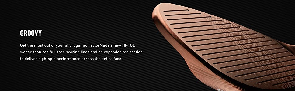 cc1ebf09bdb TaylorMade Milled Grind Hi-Toe Wedge | Product US Amazon