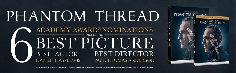 best picture, best actor, best director, phantom thread, Daniel Day Lewis, Paul Thomas Anderson, PT