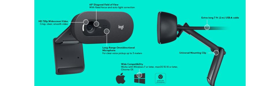 logitech c505 webcam