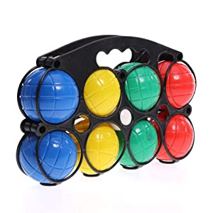 6//8pcs French Ball boule Set Petanque Outdoor Garden Game for adult and children
