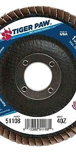 Wieler Tiger Paw 51108 Flap Disc
