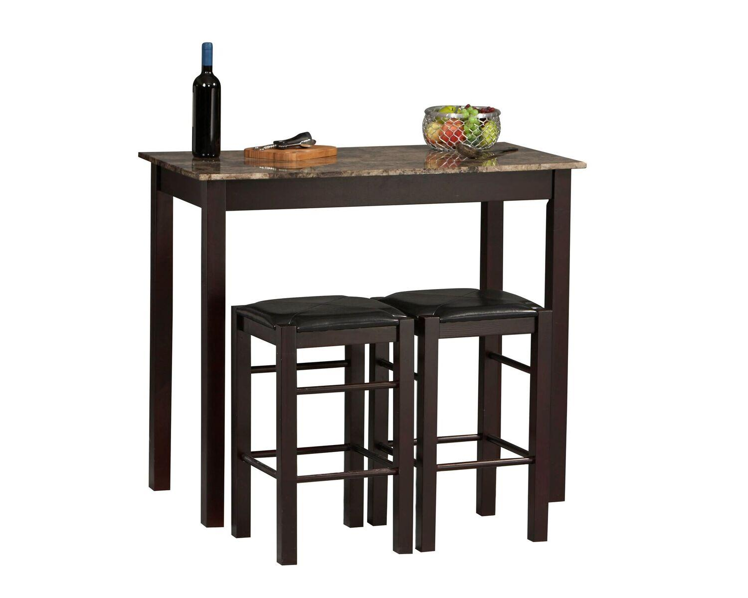 Amazon.com - Linon Tavern Collection 3-Piece Table Set - Tables