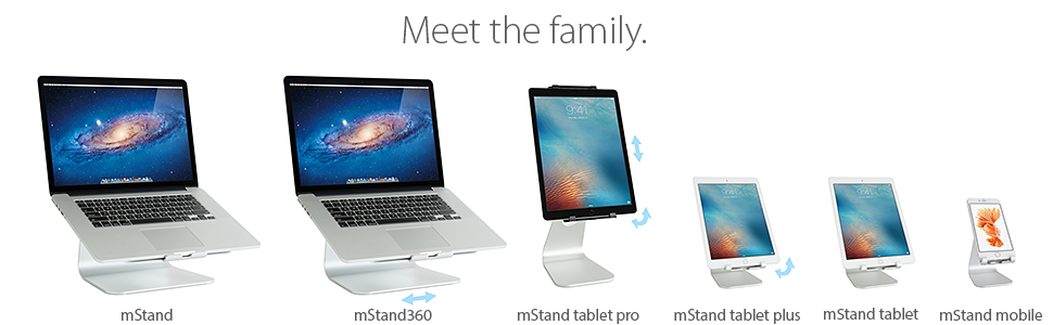 mStand360, swivel, mStand 360, laptop stand, rain design. rain design inc, macbook, ergonomic