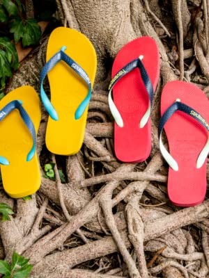 Havaianas Brasil Mix, Chanclas Unisex Adulto: Amazon.es: Zapatos y complementos