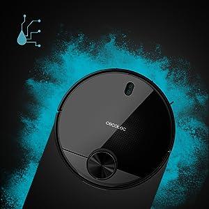 Cecotec Robot Aspirador Conga Serie 3590. Tecnología láser ...