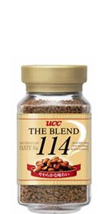 インスタントコーヒー「ザ・ブレンド 114 」
