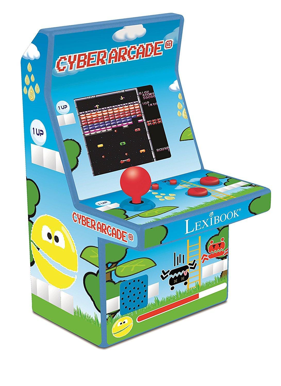 Amazon.es: Lexibook JL2950 Consola Cyber Arcade, 300 juegos