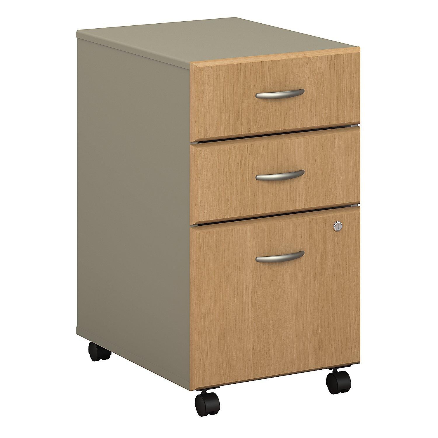 Bush business furniture series a 3 drawer for Mobile furniture