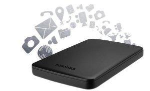 Toshiba Canvio Basics 1 TB externe Festplatte 2,5 Zoll