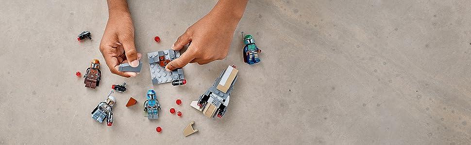LEGO Pack de Combate: Mandalorianos: Amazon.es: Juguetes y juegos