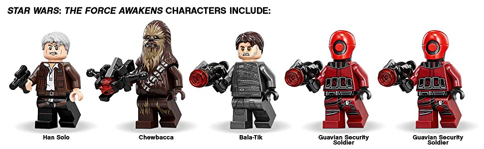 rathtar star wars, the force awakens, star wars toys, minifigures