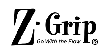z-grip brand, z-grip collection logo, z-grip tagline, go with the flow, zebra pen