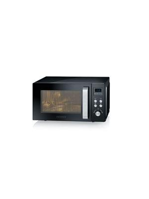 Severin MW 7750 Microondas con Grill 2 en 1, 800 W, Negro: Amazon ...
