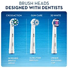 Refill brush heads compatible with the Oral-B SMART 4 4000