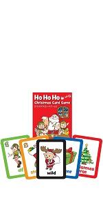 ホー ホー ホー クリスマス カードゲーム 【英語 教材 ゲーム】 Maple Leaf Publishing Ho Ho Ho Christmas Card Game