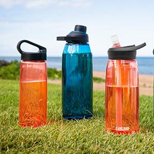 camelbak water bottles, sustainable plastic bottle, recycled plastic water bottle,