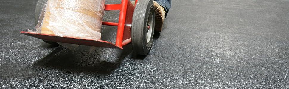Renewed Rubber-Cal Tuff-N-Lastic Rubber Flooring Runners