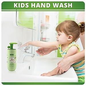 wbm kids hand wash