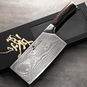 Amazon.com: Zhen japonés Acero de Damasco VG-10 67 capas luz ...