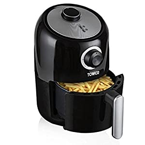 tower t17026 compact air fryer with 30 minute timer 1000. Black Bedroom Furniture Sets. Home Design Ideas